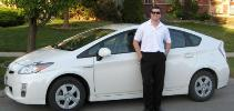 Mike with Toyota Prius